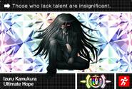Danganronpa V3 Bonus Mode Card Izuru Kamukura U ENG