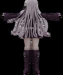 Danganronpa VR - Model - Kyoko Kirigiri (2)