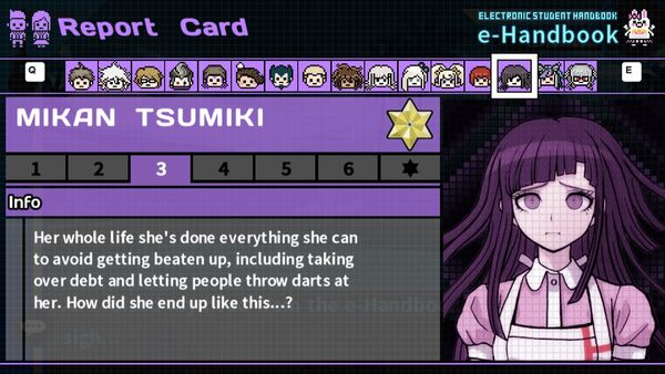 Mikan Tsumiki's Report Card Page 3