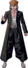 Danganronpa 1 Mondo Owada Fullbody Sprite (PSP) (10)