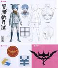 Danganronpa Another Episode Design Profile Nagisa Shingetsu