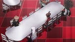 Danganronpa the Animation (Episode 08) - The students talking to Alter Ego (1)