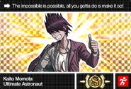 Danganronpa V3 Bonus Mode Card Kaito Momota S ENG