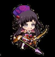 Sengoku Asuka Zero x Danganronpa 3 Mikan Tsumiki Sprite