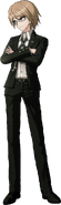 Danganronpa 2 Byakuya Togami Fullbody Sprite (1)