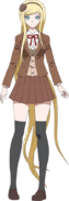 Danganronpa 3 - Fullbody Profile - Sonia Nevermind