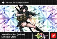 Danganronpa V3 Bonus Mode Card Mukuro Ikusaba U FR