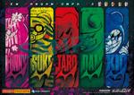 Danganronpa V3 Preorder Bonus Clear Bookmarks from TSUTAYA