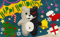 Digital MonoMono Machine Monokuma Holidays PC wallpaper