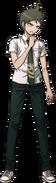 Hajime Hinata Fullbody Sprite 17