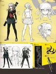 Danganronpa 2 Character Design Profile 1.2 Reload Artbook Peko Pekoyama