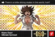 Danganronpa V3 Bonus Mode Card Akane Owari S ENG