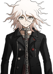 Nagito Komaeda The Servant Halfbody Sprite (1)