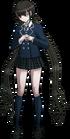 Danganronpa V3 Maki Harukawa Fullbody Sprite (High School Uniform) (4)