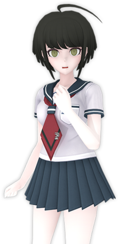 File:Komaru Naegi Fullbody 3D Model.png