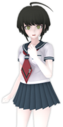 Komaru Naegi Fullbody 3D Model