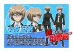 Promo Profiles - Danganronpa the Animation (Japanese) - Byakuya Togami