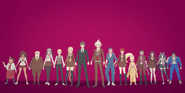 Dangan Rona 3 Return Despair Cast