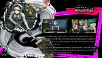 Kirumi Tojo Toujou Danganronpa V3 Official English Website Profile