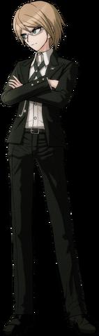 File:Byakuya Togami Fullbody Sprite (1).png