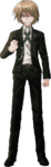 Danganronpa 2 Byakuya Togami Fullbody Sprite (No Glasses) (2)