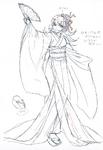 Danganronpa 3 - Character Profiles - Hiyoko Saionji (Despair design sketches)