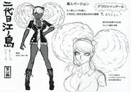 Danganronpa Another Episode Beta Design Junko Enoshima's Successor (Scrapped) (1)