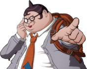 Danganronpa V3 Bonus Mode Hifumi Yamada Sprite (17)