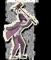 Danganronpa V3 Kaito Momota Death Road of Despair Sprite (Hammer) 05