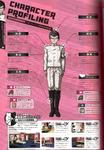 Danganronpa 1 Kiyotaka Ishimaru Character Design Profile Danganronpa 1.2 Art Book