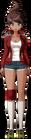 Danganronpa 1 Aoi Asahina Fullbody Sprite (PSP) (2)