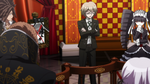 Danganronpa the Animation (Episode 05) - Byakuya Togami admitting tampering with the crime scene (14)