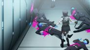 Despair Arc Episode 6 - Junko ignores Mukuro's reasoning
