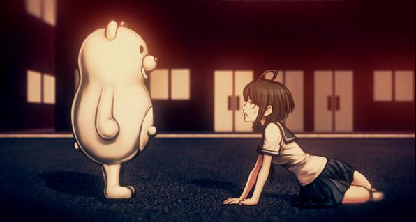 File:A wild Monokuma appeard.png