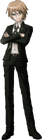 Danganronpa 1 Byakuya Togami Fullbody Sprite (PSP) (12)