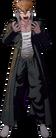 Danganronpa 1 Mondo Owada Fullbody Sprite (PSP) (18)