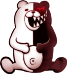 Danganronpa 1 Monokuma Game Over Sprite