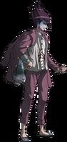 Danganronpa V3 Kaito Momota Fullbody Sprite (28)