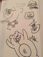 Kokichi sketch by Kodaka