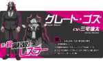 Promo Profiles - Danganronpa 3 Future Arc (Japanese) - Great Gozu