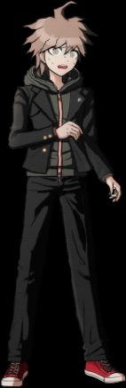 Danganronpa 1 Makoto Naegi Sprite (PSP) 11