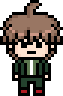 Danganronpa 1 School Mode Makoto Naegi Pixel Sprite 01