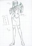 Danganronpa 3 - Character Profiles - SHSL Yo-Yoer (Sketches)