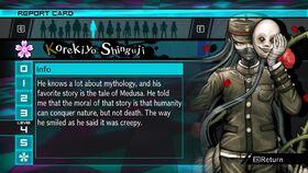 Korekiyo Shinguji Report Card Page 4 (For Shuichi)