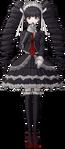 Danganronpa 1 Celestia Ludenberg Fullbody Sprite (PSP) (6)