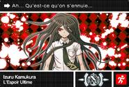 Danganronpa V3 Bonus Mode Card Izuru Kamukura N FR