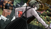 Danganronpa V3 CG - Kirumi Tojo as the Prime Minister