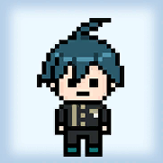 Dorm Room Door Sign - Shuichi Saihara (No Hat)