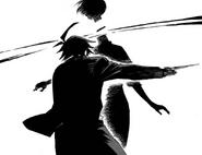 Danganronpa Gaiden KK Takumi killing Misaki Chap 14