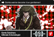 Danganronpa V3 Bonus Mode Card Gonta Gokuhara N ENG